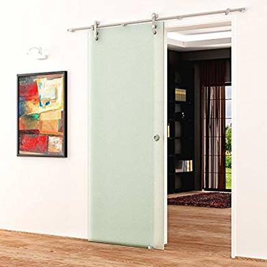 puerta corredera cristal bauhaus