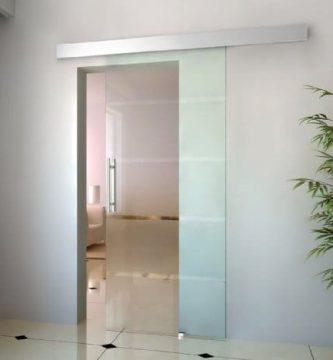 tienda donde comprar puertas correderasa de cristal homcom e7-0008