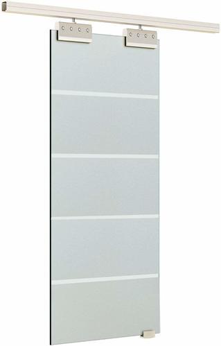 ofertas de puertas correderas de cristal homcom e7-0008